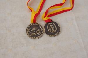 Dwa medale