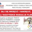 plakat zbiórka TESCO ósmy kolor